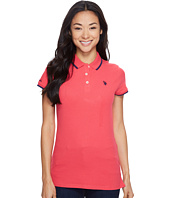 U.S. POLO ASSN. - Classic Stretch Pique Polo Shirt