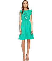 Kate Spade New York - Crepe Ruffle Dress