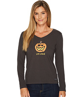 Life is Good - Jack O Lantern LIG Long Sleeve Crusher Tee