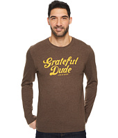 Life is Good - Grateful Dude Thanks Long Sleeve Crusher Tee