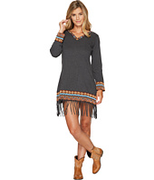 Scully - Galatea Fringe Bottom Embroiderd Dress