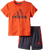 adidas Kids - Full Court Shorts Set (Infant)