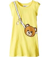 Moschino Kids - Teddy Bear Purse Graphic Dress (Little Kids/Big Kids)