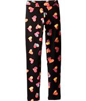 Moschino Kids - All Over Heart Print Leggings (Little Kids/Big Kids)