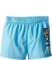 Moschino Kids - Beach Logo Swim Shorts (Infant/Toddler)