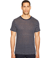 ATM Anthony Thomas Melillo - Striped Linen Jersey Oversized Crew
