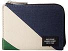 Diagonal Dipped Coin Wallet