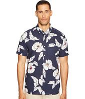 Jack Spade - Short Sleeve Poppy Flower Print Shirt