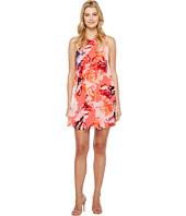 Calvin Klein - Floral Chiffon Trapiz Dress