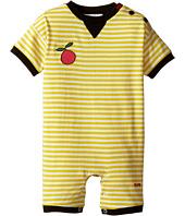 Sonia Rykiel Kids - Short Sleeve Striped Romper w/ Fruit Patch Detail (Infant)