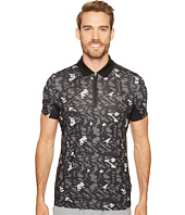 Lacoste - Performance Ultra Dry Stretch All Over Pattern Polo