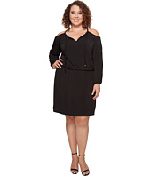 MICHAEL Michael Kors - Plus Size Cold Shoulder Dress