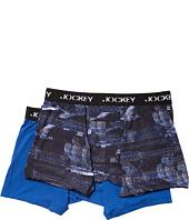 Jockey - Microfiber Performance Boxer Brief 2-Pack