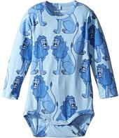 mini rodini - Lion Long Sleeve Bodysuit (Infant)