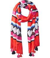 Kate Spade New York - Geo Border Oblong Scarf