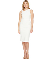 Ivanka Trump - Sleeveless Scuba Crepe Zipper Hardware