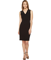 Calvin Klein - Sheath Dress with Shoulder Cut Outs