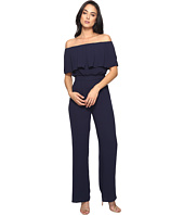 Vince Camuto - Moss Crepe Off the Shoulder Jumpsuit