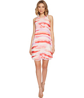 Calvin Klein - Sleeveless Printed Trapiz Dress