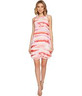 Calvin Klein - Sleeveless Printed Trapiz Dress