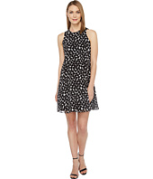 Calvin Klein - Polka Dot Trapiz Dress