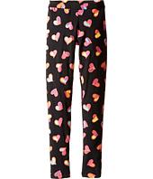 Moschino Kids - All Over Heart Print Leggings (Big Kids)