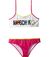 Moschino Kids - Beach Logo Bikini (Big Kids)