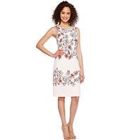 Ivanka Trump - Floral Print Sleeveless Scuba Crepe