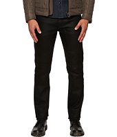 BELSTAFF - Raw Stretch Regular Fit Motor Denim in Black
