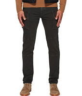 BELSTAFF - Westward Tapered Garment Dyed Denim with Cargo Pockets in Anthracite