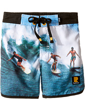 Rock Your Baby - Surfin Safari Boardshorts (Toddler/Little Kids/Big Kids)