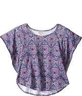Lucky Brand Kids - Printed Peasant Top (Big Kids)