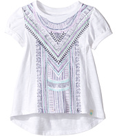 Lucky Brand Kids - Short Sleeve Embroidered Voyage Top (Toddler)