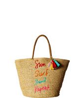 Rebecca Minkoff - Sun. Surf. Sand. Repeat. Straw Tote