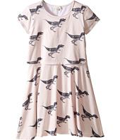Paul Smith Junior - Short Sleeve Dress w/ Dino Prints (Big Kids)