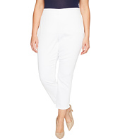 NYDJ Plus Size - Plus Size Alina Pull-On Ankle Jeans in Endless White