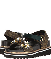 Suecomma Bonnie - Flower Ornament Platform Sandal