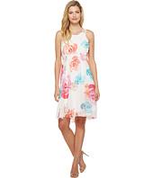 Calvin Klein - High-Low Chiffon Dress CD7H234V