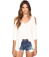 Jack by BB Dakota - Bartemus Light French Terry Cold Shoulder Top