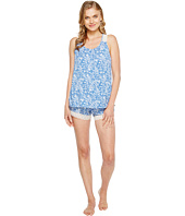Lucky Brand - Lace Trim Pajama Short Set