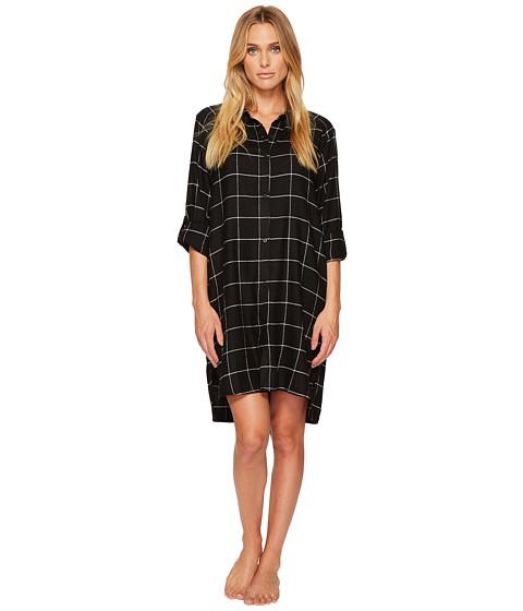 DKNY Flannel Long Sleeve Sleepshirt