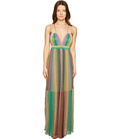 M Missoni - Multicolor Plisse Maxi Dress