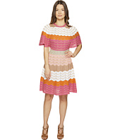 M Missoni - Color Block Zigzag Dress