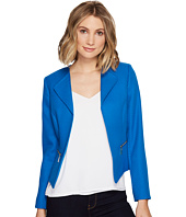 Tahari by ASL - Novelty Open Jacket w/ Zipper Pockets