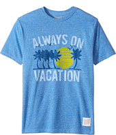 The Original Retro Brand Kids - Living in Paradise Short Sleeve Tri-Blend Tee (Big Kids)