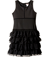 Nanette Lepore Kids - Ponte Dress with Chiffon & Tulle (Little Kids/Big Kids)