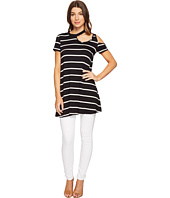 Culture Phit - Kameron Striped Cut Out Tunic