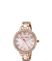 Betsey Johnson - BJ00552-07 - Rose Gold Crystal Face