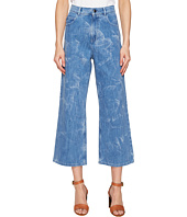 Sonia Rykiel - Aqua Printed Blue Denim