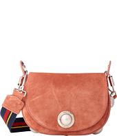 Sonia Rykiel - Suede Leather Saddle Bag